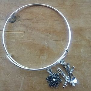 Jewelry - Ski Lover Charm Bracelet